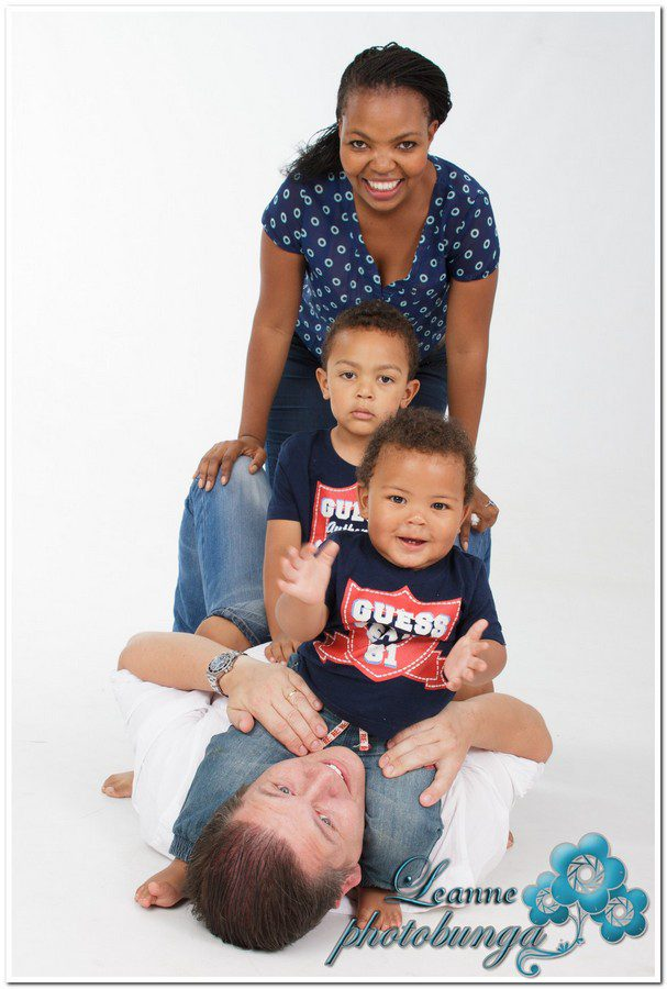 Tebogo family shoot